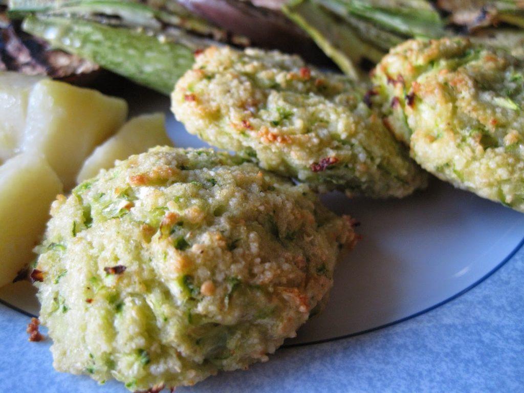 polpette di zucchine e cous cous