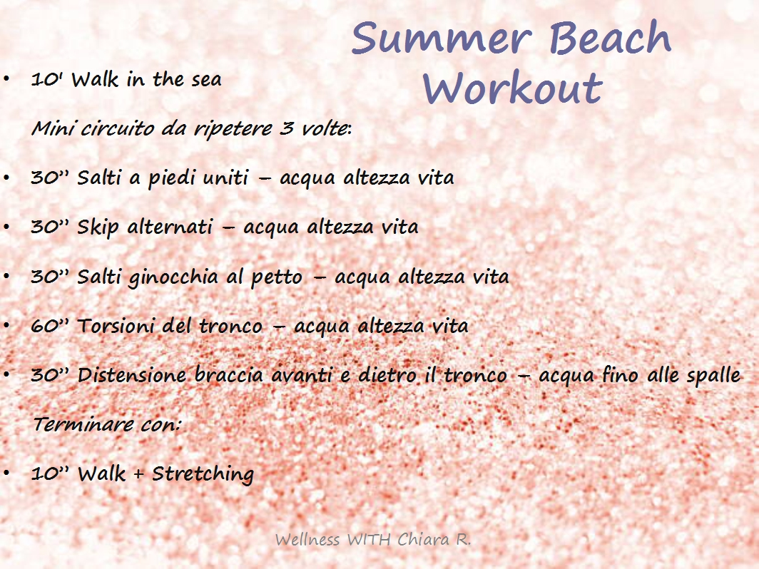 Summer Beach Workout