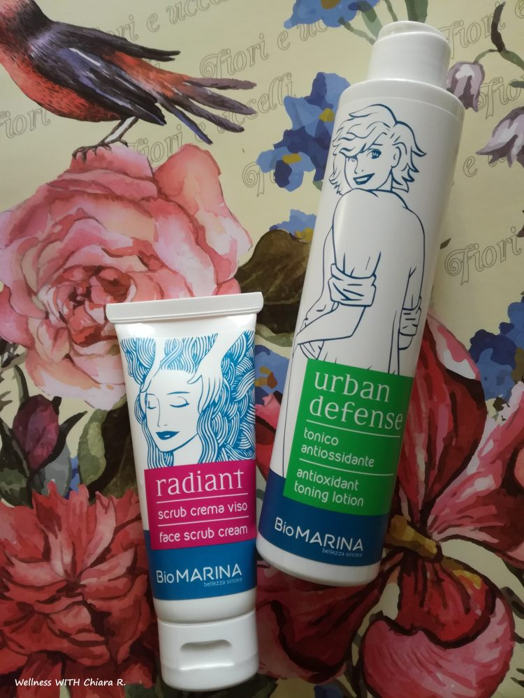 Radiant Scrub e Tonico Urban Defense
