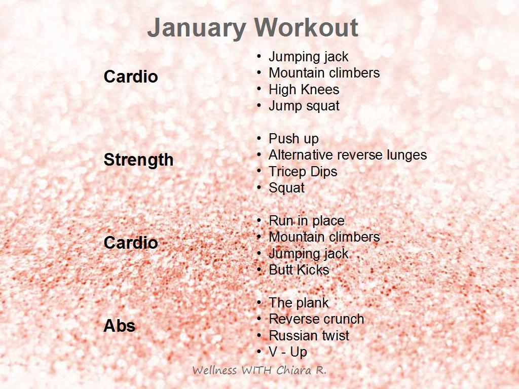 January '19 Workout