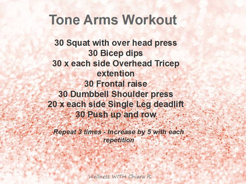 Tone Arms Workout