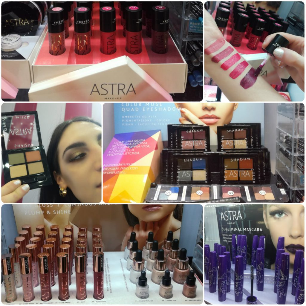 collage Astra Make up