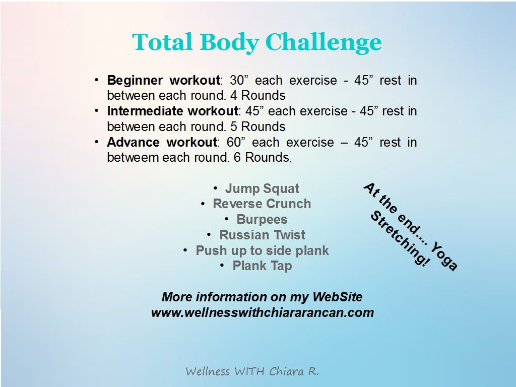 Total body Challenge