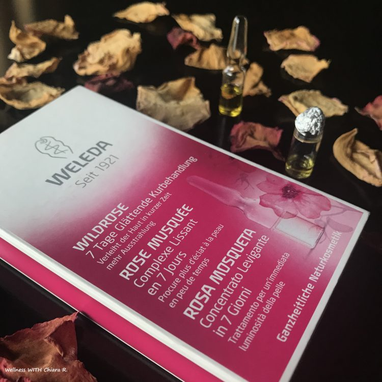 Trattamento intensivo levigante rosa mosqueta Weleda