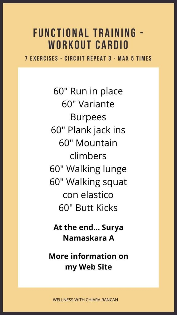 Functional Training Workout Cardio
