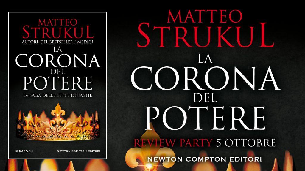 La corona del potere di Matteo Strukul