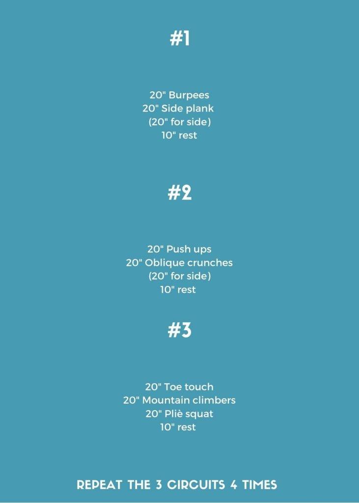 20 Minutes Tabata Workout IV